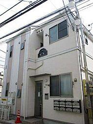 東京都立川市曙町2丁目の賃貸アパートの外観