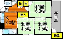 [一戸建] 岡山県岡山市中区高屋丁目なし の賃貸【/】の間取り
