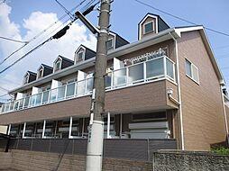 大阪府門真市野里町の賃貸アパートの外観