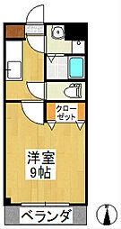 グリーン花水木[2階]の間取り