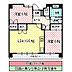 間取り,2LDK,面積59.83m2,賃料6.0万円,JR常磐線 水戸駅 3.6km,,茨城県水戸市上水戸