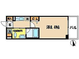 ヒューリックレジデンス調布柴崎[3階]の間取り