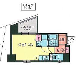 MY桜木町[601号室号室]の間取り