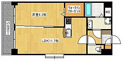 プレジデント正弥[3階]の間取り