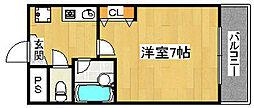 VIVE中之町[3階]の間取り