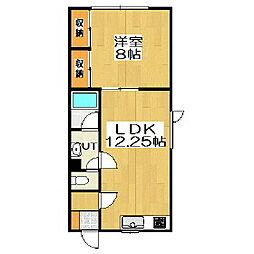 Kハウス[1階]の間取り