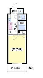 フォレステージ桜川1階Fの間取り画像