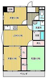 MSイワイ[2階]の間取り