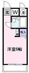 ザ・エンパイア[2階]の間取り