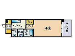 Casa de Taihokan il mare[6階]の間取り