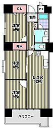 レグルス堺東[8階]の間取り