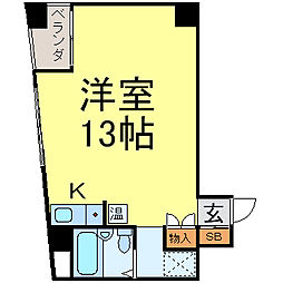 G&Y東桜[601号室]の間取り