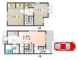 メゾンハイム[2階]の間取り
