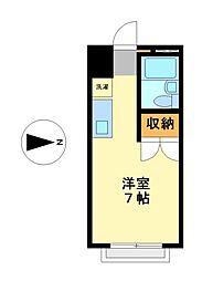 愛知県名古屋市西区中小田井2丁目の賃貸アパートの間取り