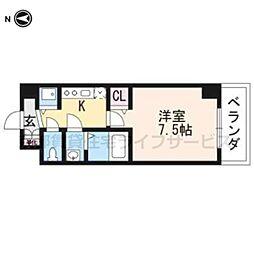 (仮称)西明田町レジデンス[502号室]の間取り