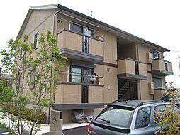 京都府京都市伏見区桃山町和泉の賃貸アパートの外観