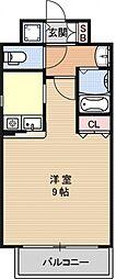 プレサンス京大東[502号室号室]の間取り