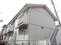 埼玉県川口市飯原町の賃貸アパートの外観