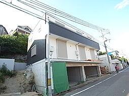 兵庫県明石市東朝霧丘の賃貸アパートの外観