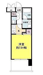 グランシス江坂[0608号室]の間取り