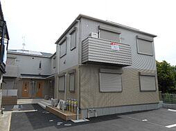 京都府京都市伏見区向島丸町の賃貸アパートの外観