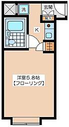 エクセル二子玉川[1階]の間取り