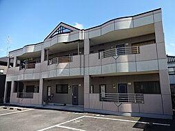 愛知県一宮市大和町馬引字郷戌亥の賃貸アパートの外観