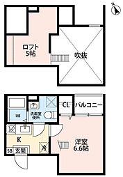 ヒラソル守山(ヒラソルモリヤマ)[1階]の間取り