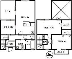 アトリオ2番館[2階]の間取り