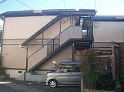京都府京都市左京区浄土寺南田町の賃貸アパートの外観