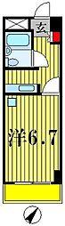 NCAマンション[7階]の間取り