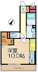 コート権太坂[1階]の間取り