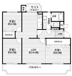 金沢八景クローバーハイツE棟