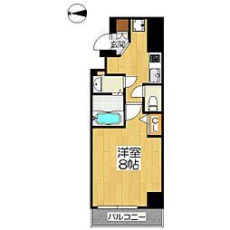 仮称)中京区神明町マンション[5階]の間取り