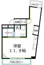 CX[2階]の間取り
