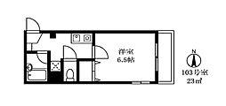アネラハウス[303号室]の間取り