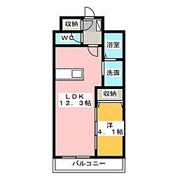 M's dreamX[6階]の間取り