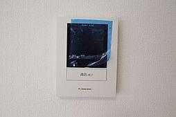 TVモニター付インターホンがあり、安心です
