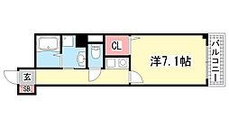 ウィンテージ神戸元町[13階]の間取り