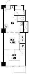 高円寺ハイツ[3階]の間取り