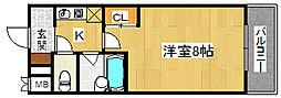 レクシア栄橋DUO[4階]の間取り