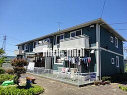 愛知県豊橋市清須町字高見の賃貸マンションの外観