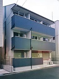 埼玉県戸田市大字新曽の賃貸アパートの外観