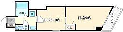 アマノール本田[4階]の間取り