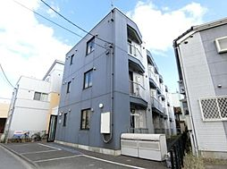 東京都福生市本町の賃貸マンションの外観