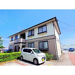 静岡県焼津市西焼津の賃貸アパートの外観