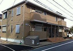 東京都練馬区中村2丁目の賃貸アパートの外観