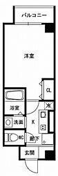 神戸市西神・山手線 板宿駅 徒歩4分の賃貸マンション 5階1Kの間取り