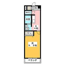 Is Villa Annex[2階]の間取り