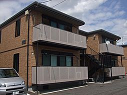 静岡県富士市蓼原の賃貸アパートの外観
